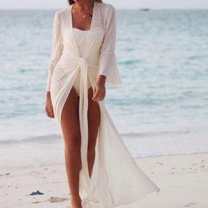 🌊 Beach wrap dress. Revolve ☀️ bachelorette